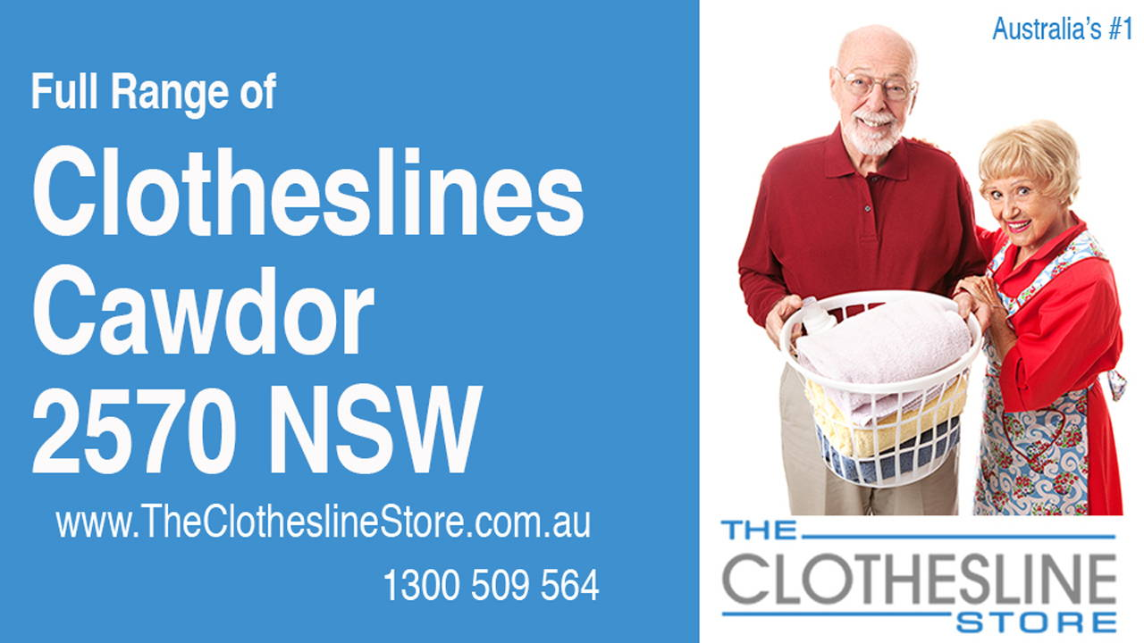 New Clotheslines in Cawdor 2570 NSW