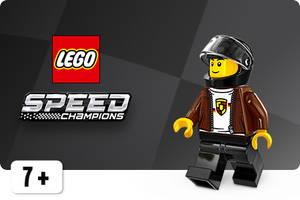 LEGO Speed Champions kilpa-ajofiguuri
