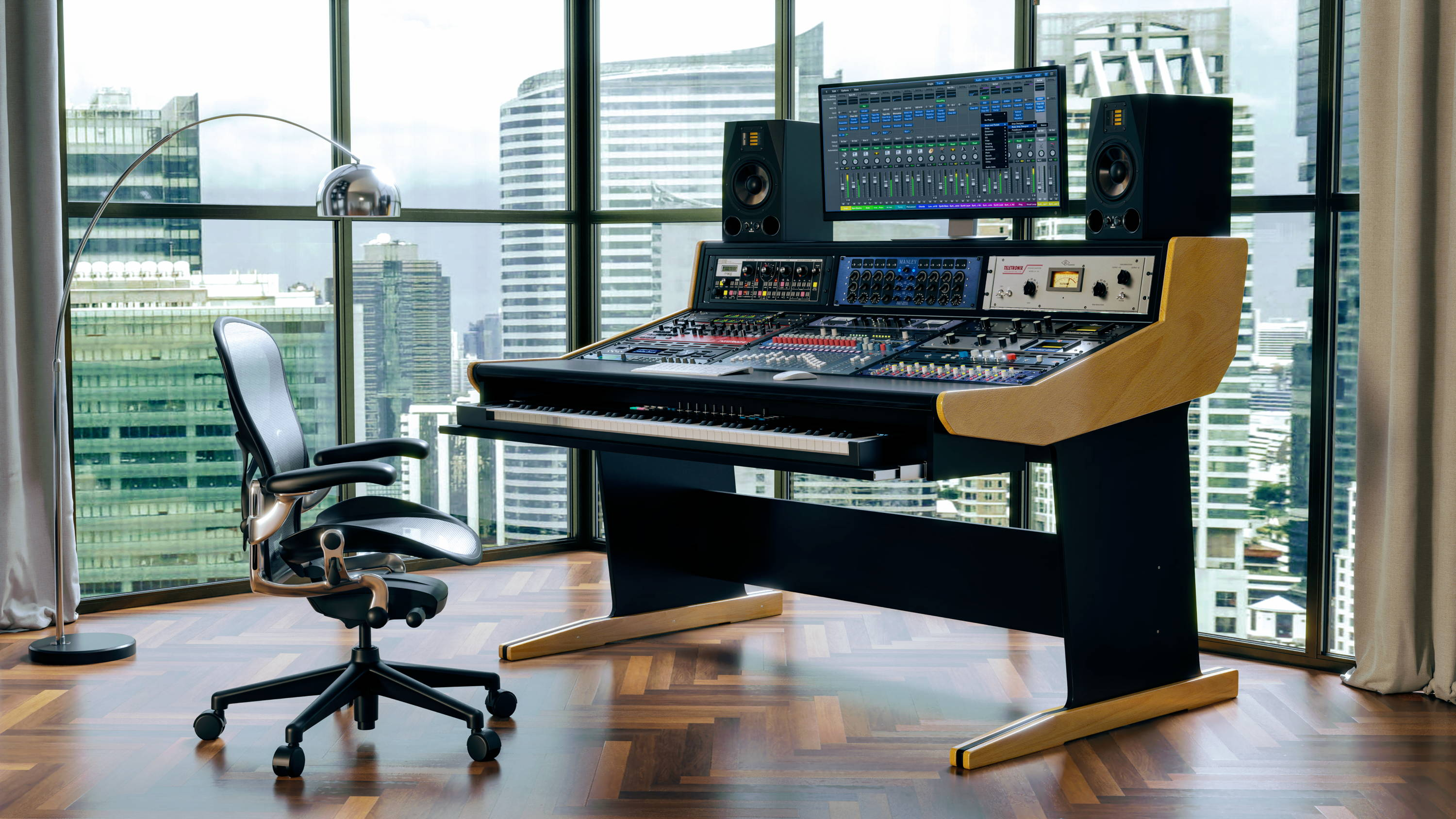 Buso Audio Studio Furniture