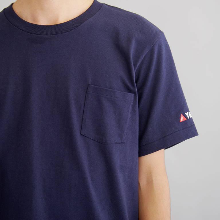 YAMAP(ヤマップ)/オリジナルロゴTシャツ/ネイビー/UNISEX