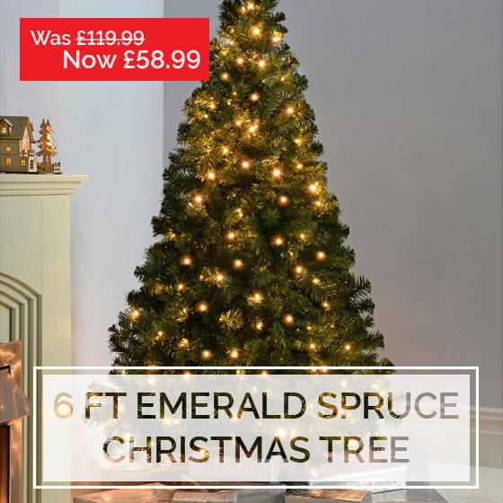 Emerald Spruce Christmas Tree