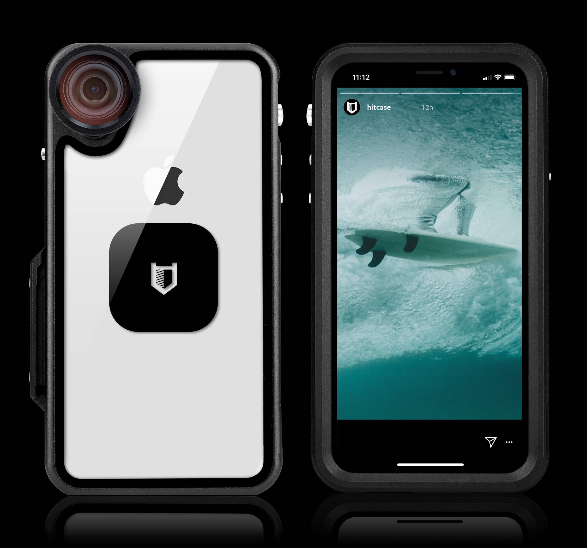 finest selection 2f2ec 0c186 Aluminum Waterproof iPhone X Case - Pro 2.0 | Hitcase - Hitcase Canada