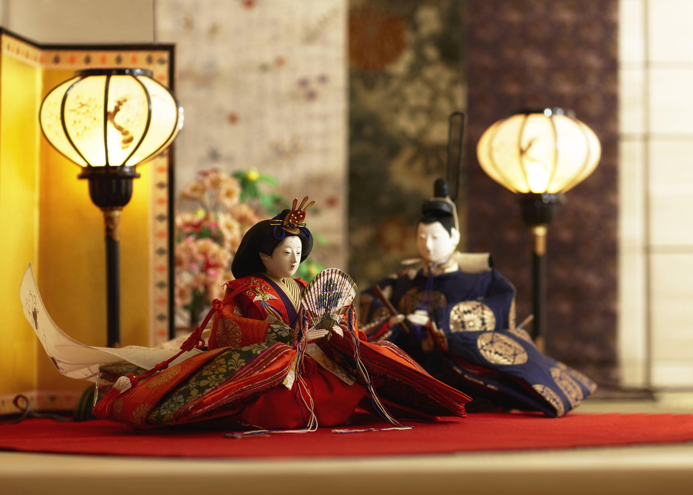 hina matsuri dolls festival display