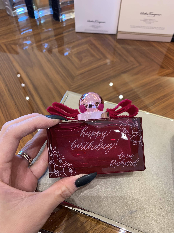 engraved fragrance gift
