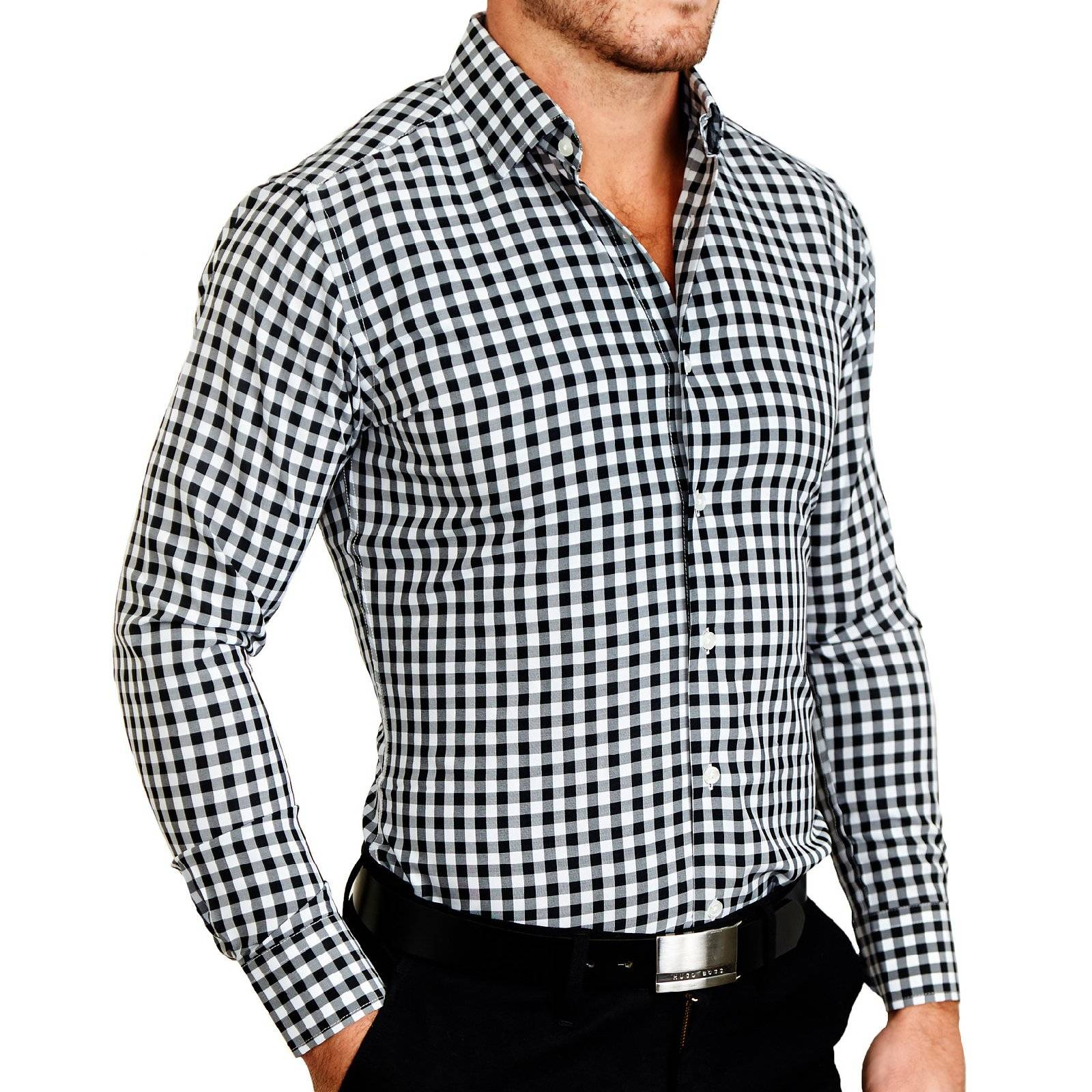 State And Liberty Athletic Fit Dress Shirts