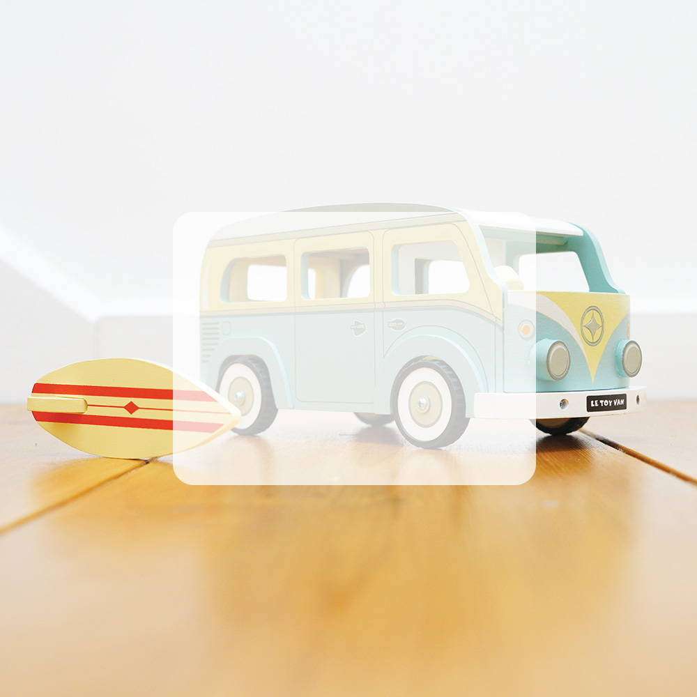 collection 3 years campervan surf board