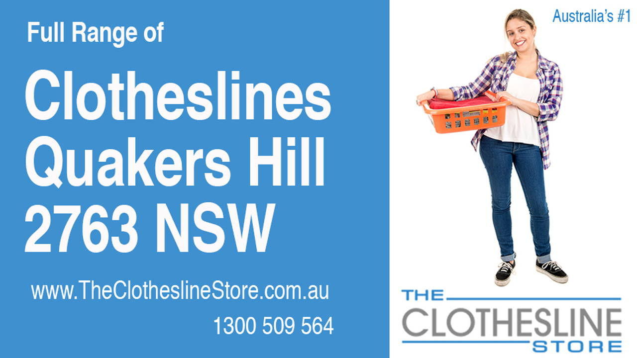 New Clotheslines in Quakers Hill 2763 NSW