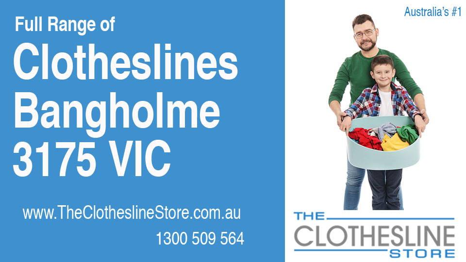 New Clotheslines in Bangholme Victoria 3175