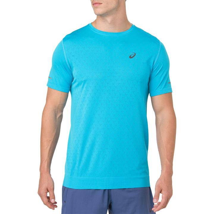 ASICS GEL-Cool Short Sleeve Top Men's aquarium