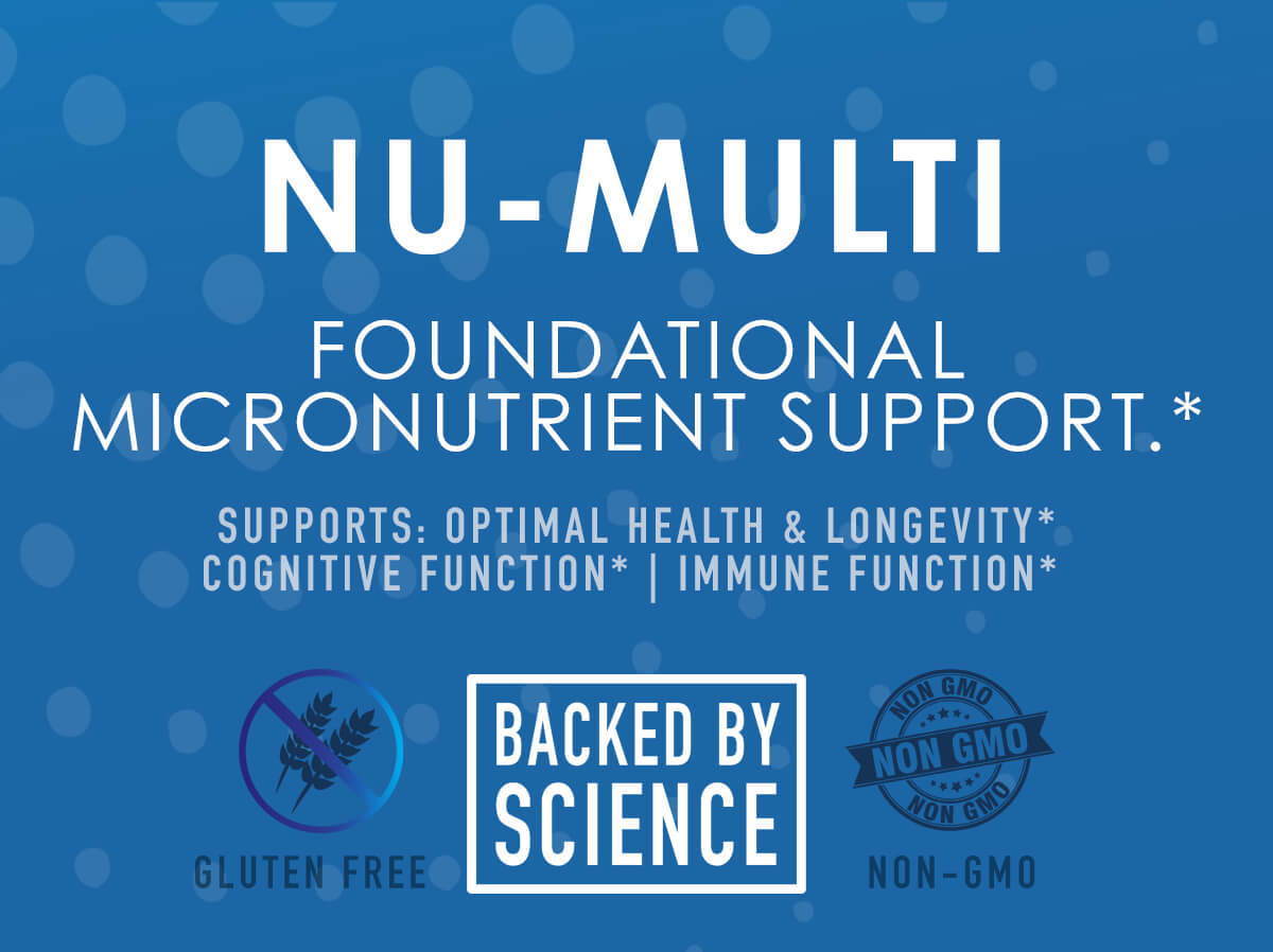 Nu-Multi - Foundational Micronutrient Support - NuEthix