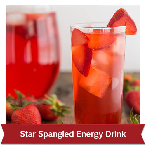 Star Spangled Energy Drink