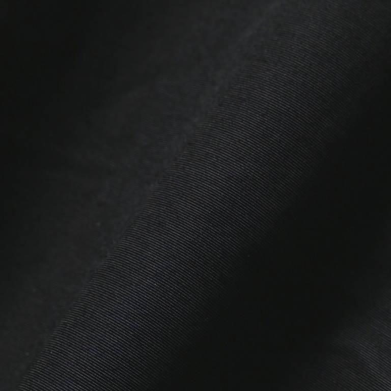 andwander(アンドワンダー)/60/40クロスリブパンツ/ブラック/UNISEX