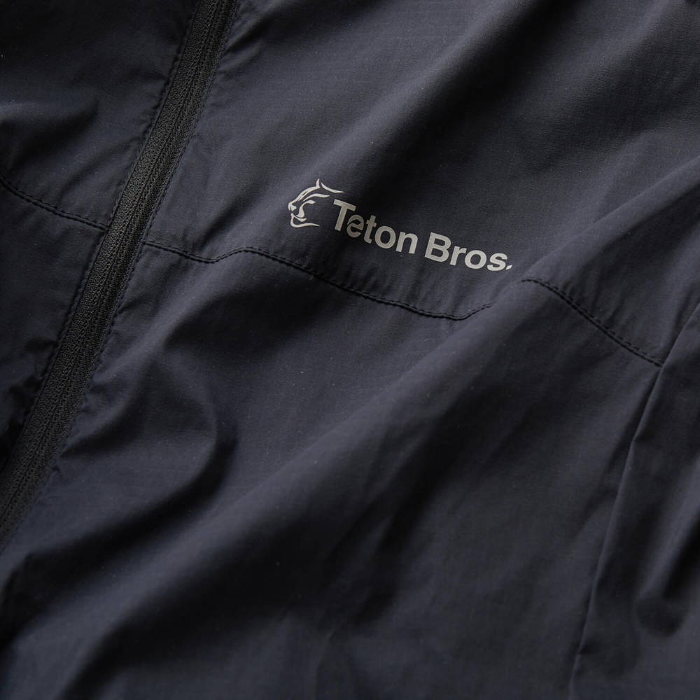 Teton Bros.(ティートンブロス)/ウインドリバーフーディ/ブラック/WOMENS