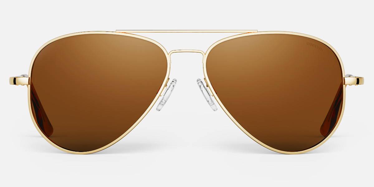 23k Gold Concorde Pilot Sunglasses