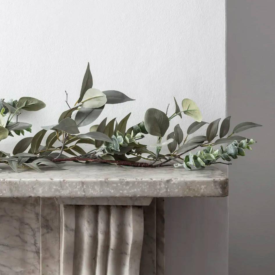 Guirlande de Noël Eucalyptus et Laurier