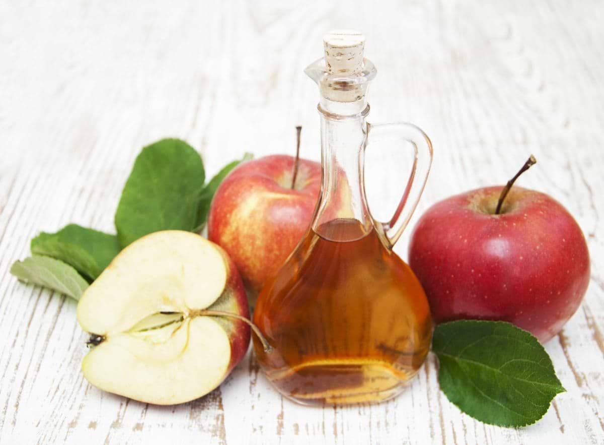Apfelessig-Gesichtswasser