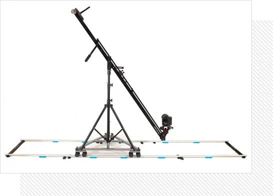 PROAIM 12ft Straight Aluminum Camera Dolly Track, ⌀ 32mm