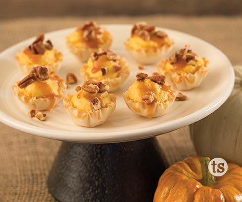 caramel pumpkin bites