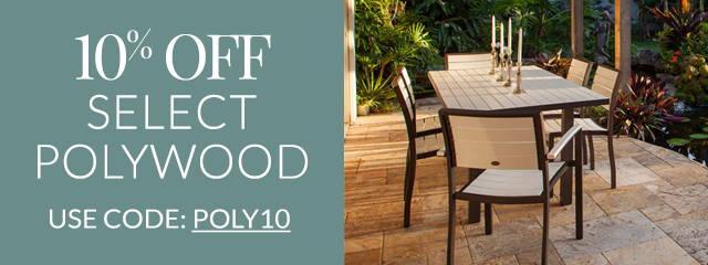 Save 10% on Select Polywood