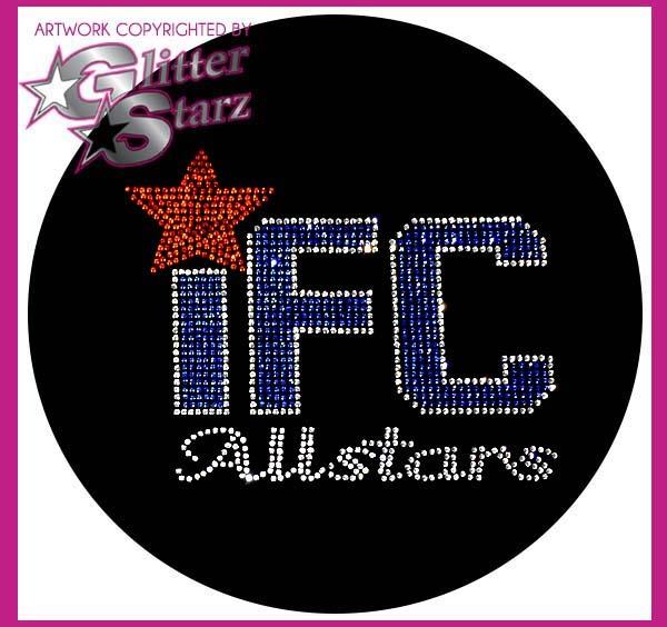 ifc allstars bling webstore fundraiser glitterstarz