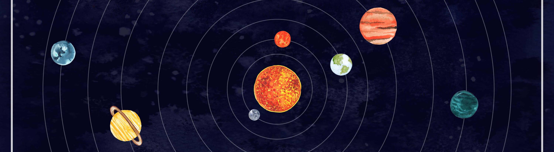 Custom Solar System Art