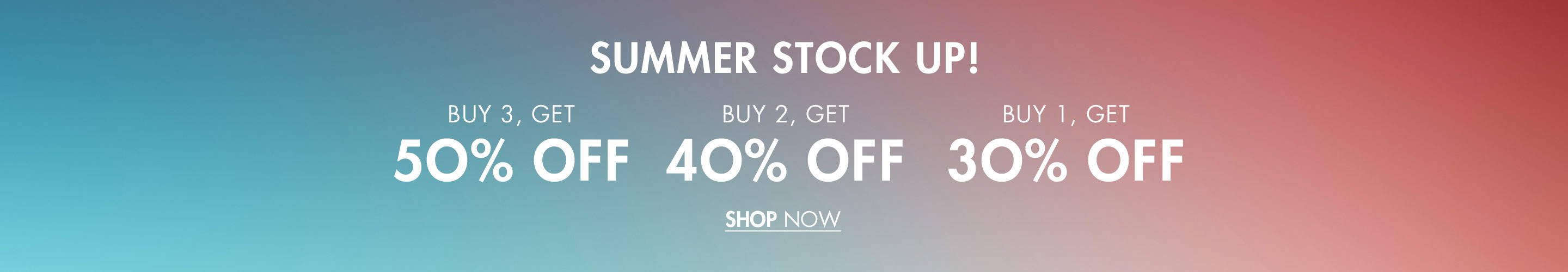 Summer Stock Up