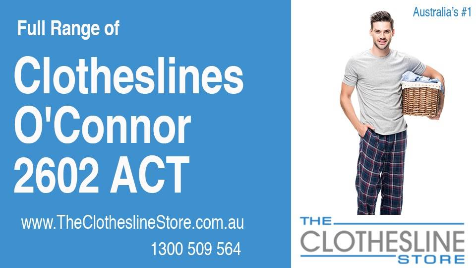 New Clotheslines in O'Connor ACT 2602