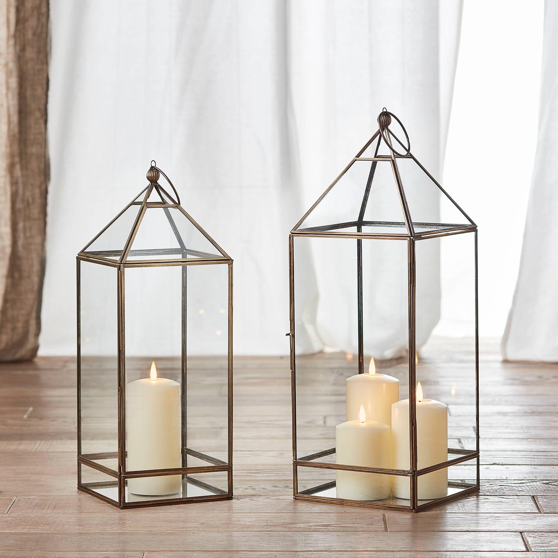 Lotte Artisan TruGlow® Candle Lantern Duo
