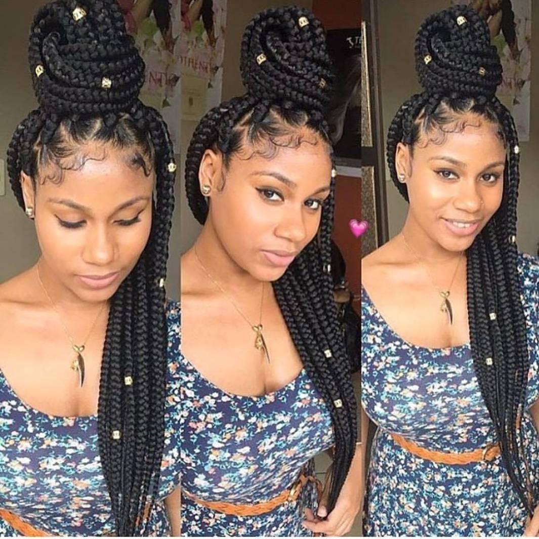 Tight Box braids