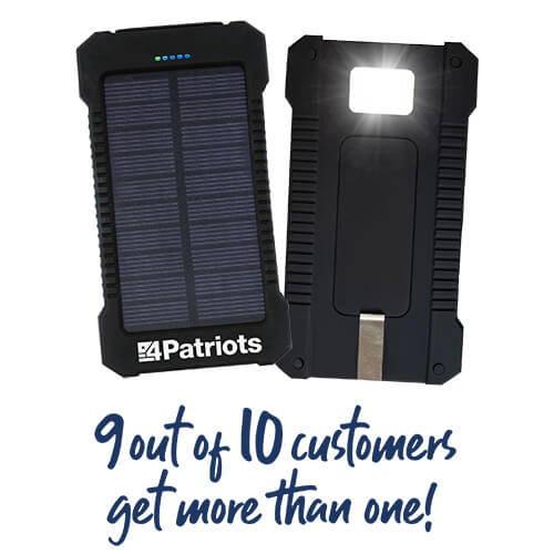 Cargador y Batería Portátil Solar