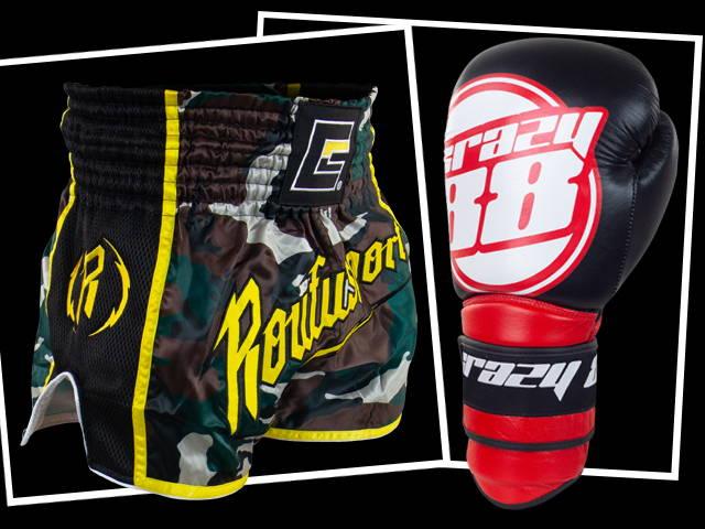 custom muay thai gear, custom boxing gloves, custom muay thai shorts, custom thai boxing shorts