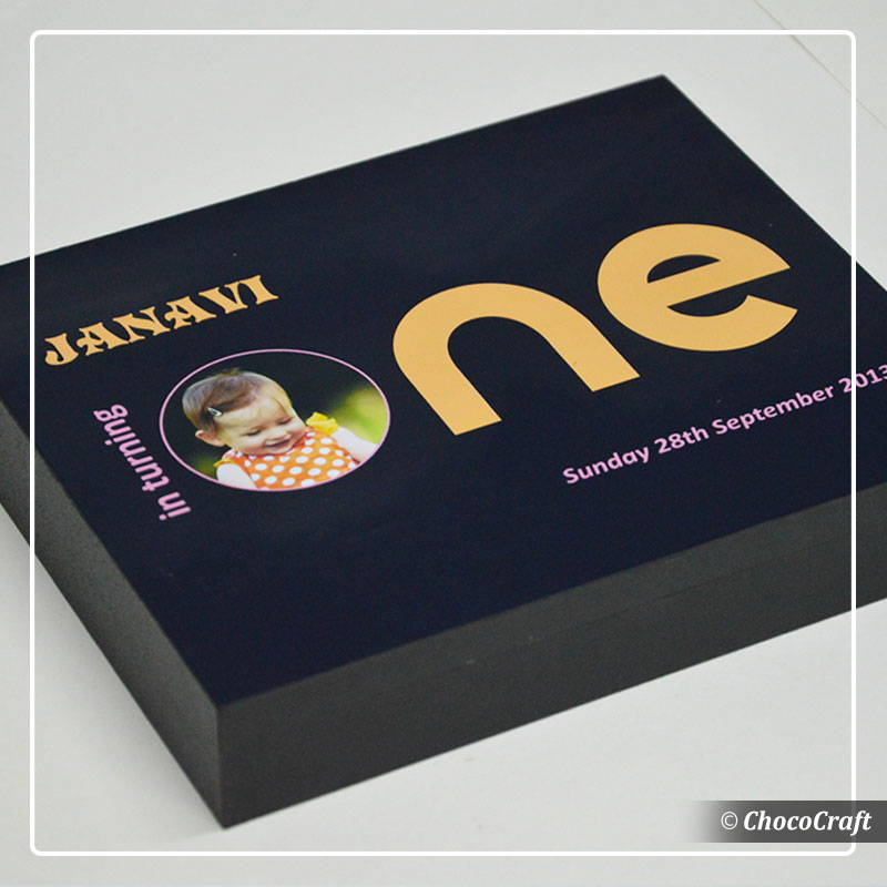 If you are looking for first birthday return gifts in India, you will find personalised chocolates from Chococraft to be an excellent idea.