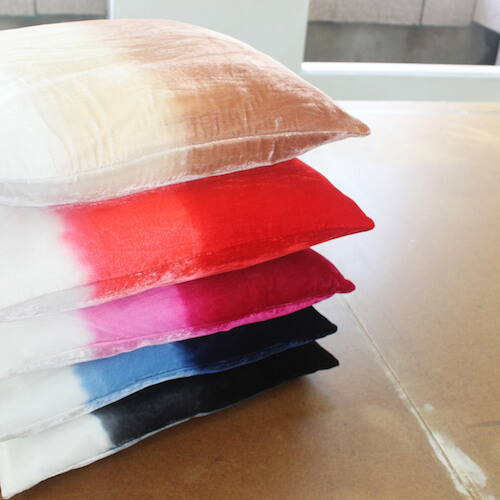 Jiti Ombre Velvet Pillow