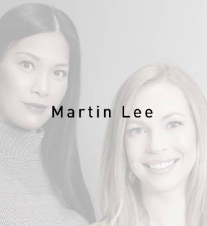 A photo of Stephanie Martin and Mae Lee of MartinLee Design of Calgary