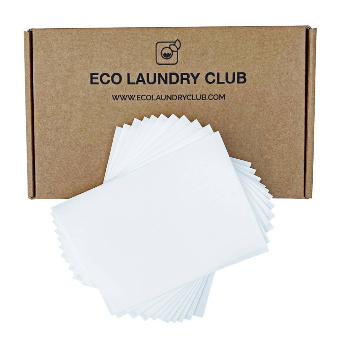 The zero waste shop for natural laundry detergent sheets