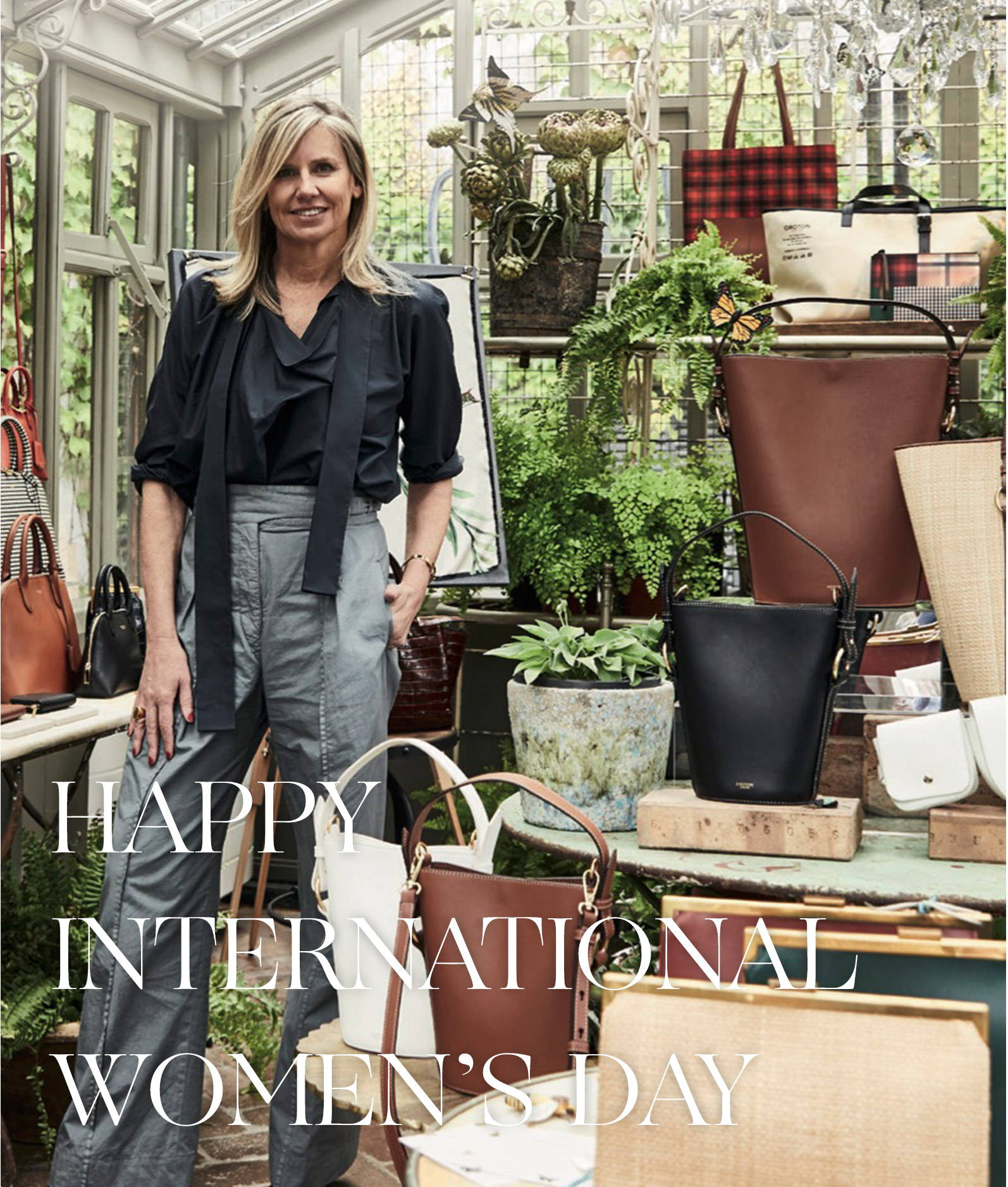 Happy International Women's Day From Oroton's Sophie Holt