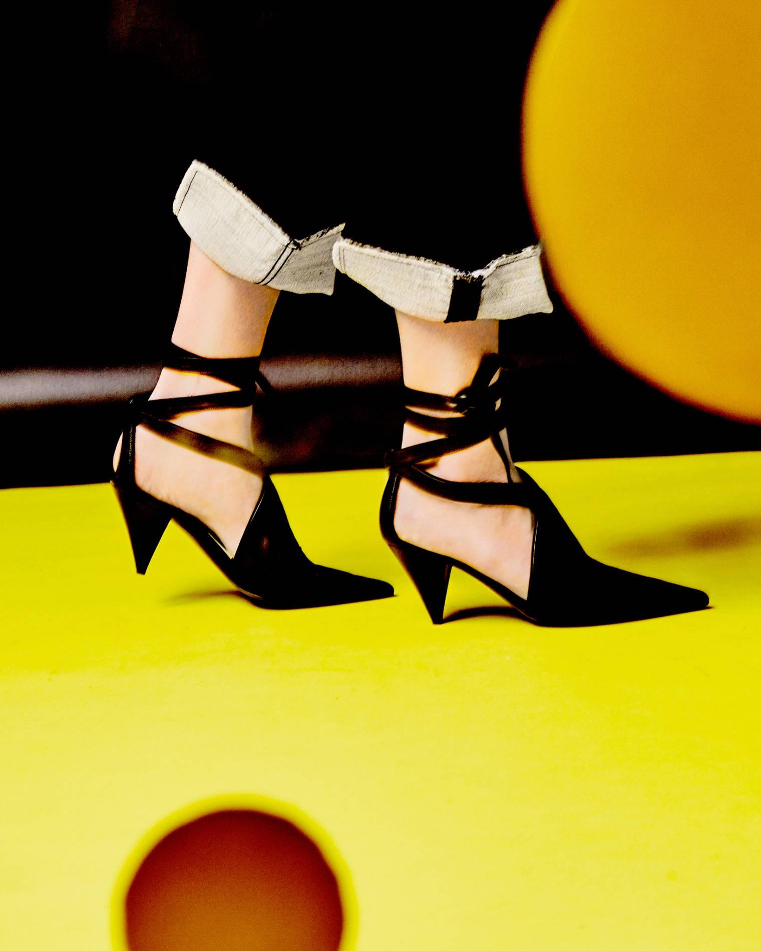 celine cone heels