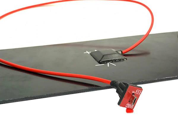 Custom Wire Solar Panel