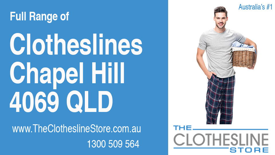 New Clotheslines in Chapel Hill Queensland 4069