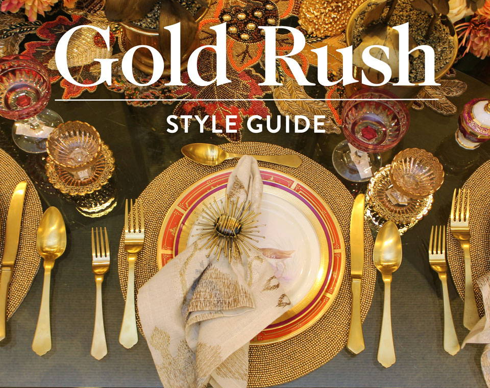 Gold Rush Style Guide