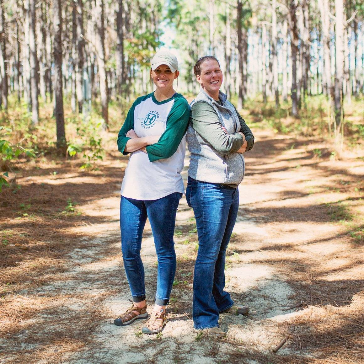 Episode 07 | Jenni Harris + Jodi Benoit  This farm family runs the town of Bluffton, Georgia bringing jobs, products and tourism to the community. Meet the ladies behind the innovation at White Oak Pastures.