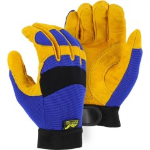 Leather Mechanics Style Work Gloves from X1 Safety