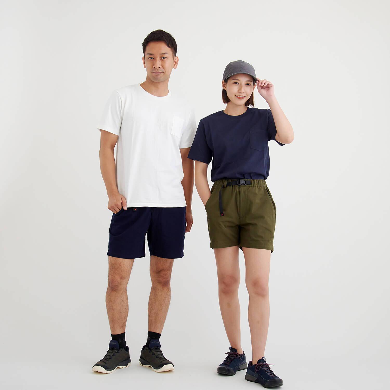 YAMAP/久留米かすりショートパンツ