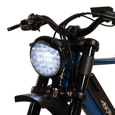 E-bike with LED Headlight
