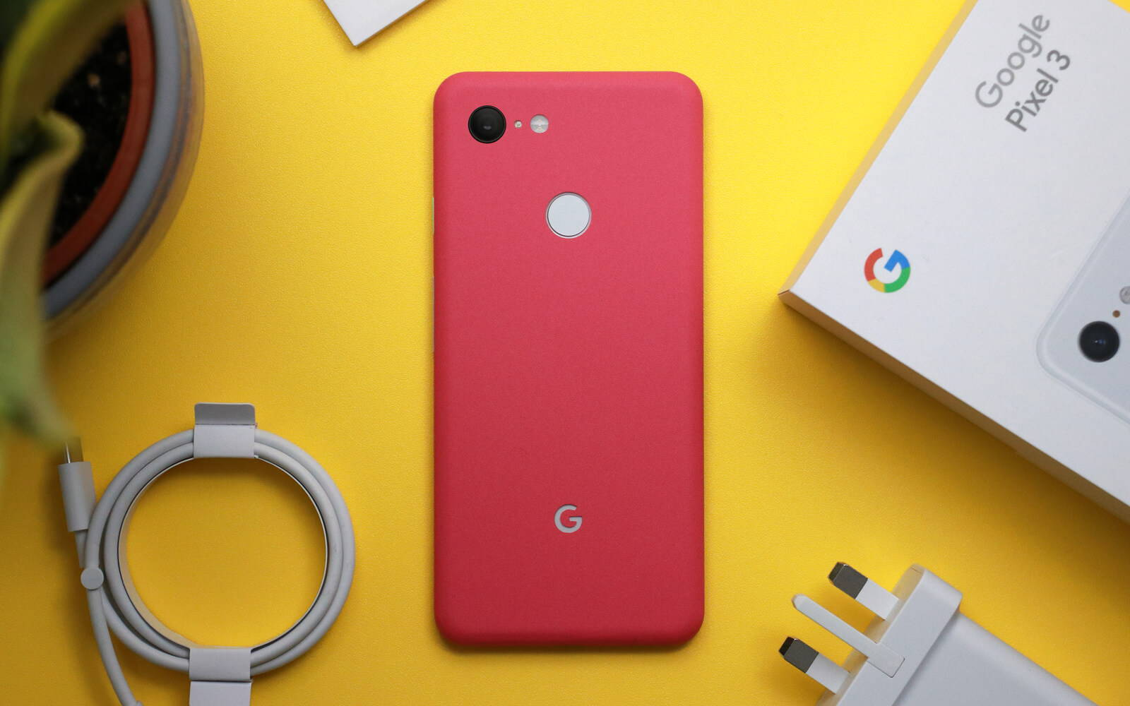Google Piel 3 XL True Colour Pink Skins