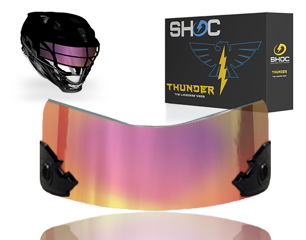 Lacrosse Visor by shoc - tigers blood