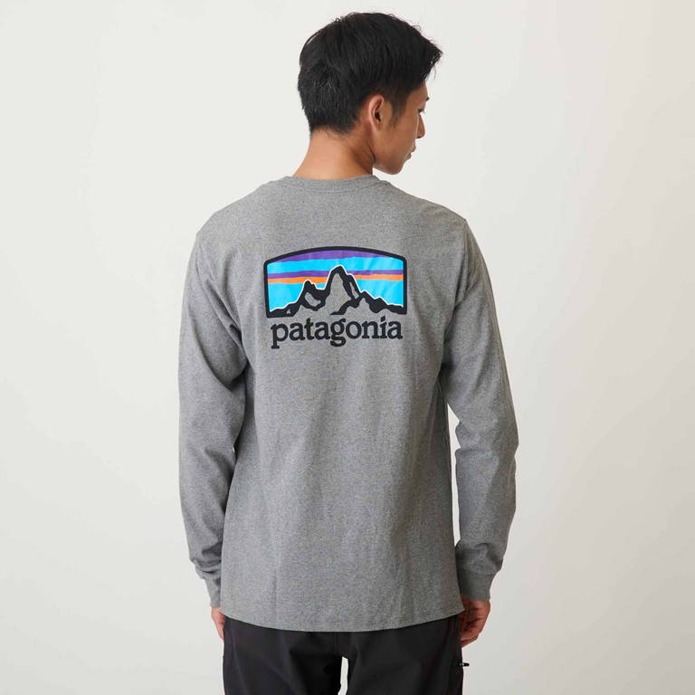 patagonia(パタゴニア)/ロングスリーブ フィッツロイ ホライゾンズ レスポンシビリティー/グレー/MENS