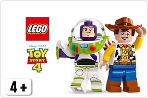 Toy Story 4 LEGO sarjan hahmot Buzz Lightyear ja Woody
