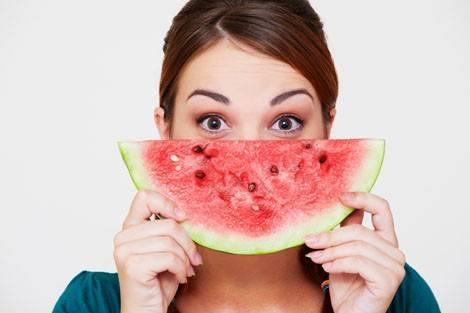 Kalorienarmes Obst Melone