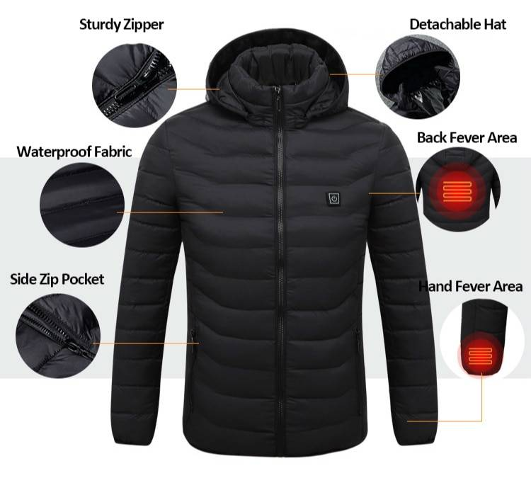 womens heated jacket